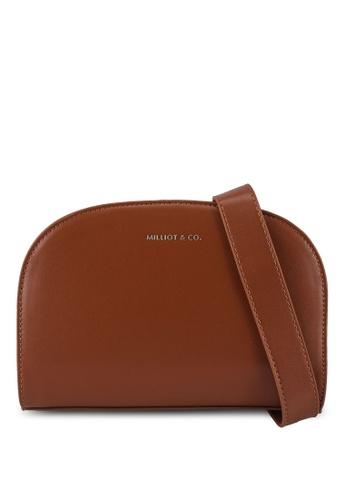Milliot & Co. brown Willow Sling Bag 3F5D1AC13B10E2GS_1