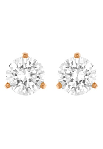 Swarovski White Solitaire Pierced Earrings 948bdacf7daaa5gs 1