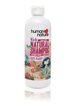 Kids Natural Shampoo & Body Wash Ocean Apple 500ml