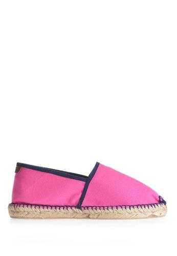 TONI PONS pink JASPER CAMPING LONA - Slip-On Espadriller 9F4E7SHC336E2DGS_1