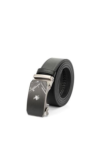 Swiss Polo black Swiss Polo 40mm Automatic Belt 33E33AC851E1F6GS_1