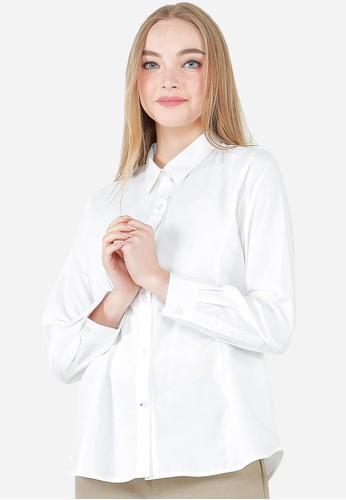 Urban Exchange white Urban Exchange Aiden White Shirt 10E5EAA990AEDFGS_1