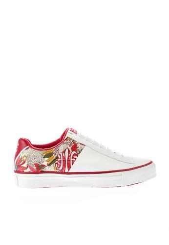 Royal Elastics 白色 and 多色 Cruiser 休閒鞋 RO796SH099IYTW_1