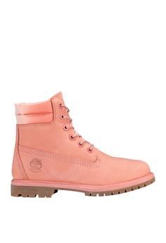 1cc372b62e3 Timberland pink Waterville 6-Inch Waterproof Boots 9F565SHE38E751GS_1