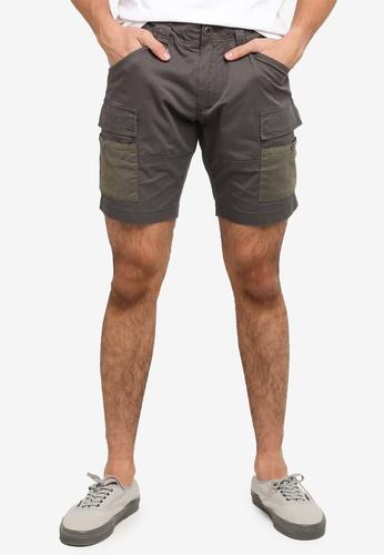 SPARROW GREEN grey NAT Shorts 4B7FBAACBB5F1EGS_1