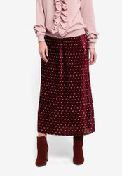 Y.A.S pink Galay Pleated Skirt YA631AA0SA85MY_1