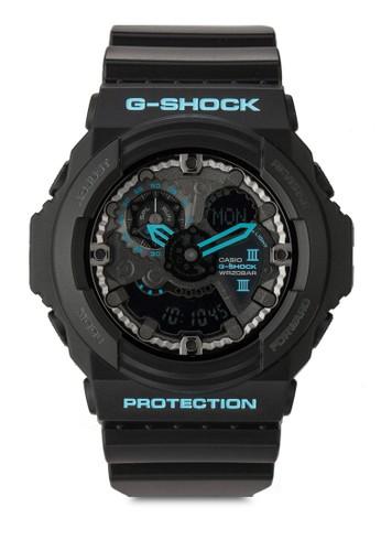 G Shesprit 折扣ock GA-300BA-1ADR  樹脂男士手錶, 錶類, 飾品配件