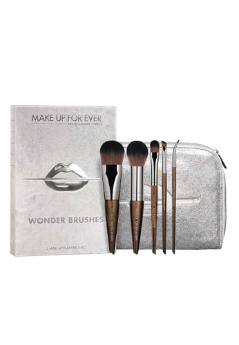 MAKE UP FOR EVER brown WONDER BRUSH SET 4C17EBE491BCE7GS_1