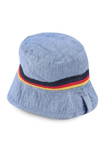 FOX Kids & Baby blue Baby Boy Striped Print Hat 020D7KCF3A2252GS_1