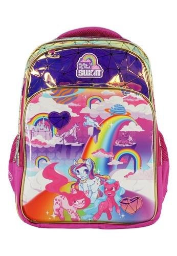 Swan pink Swan Smile Victor 2 Primary School Bag - Pony 2CDC9KCA8F19D1GS_1