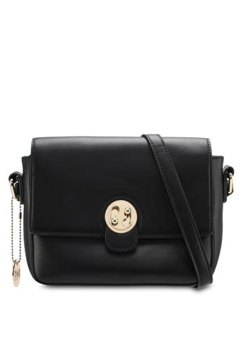Perllini&Mel black Faux Leather Sling Bag PE444AC0SJ0GMY_1