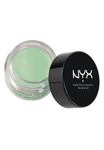 NYX Professional Makeup green NYX Professional Makeup Concealer In A Jar - GREEN 53B69BEABAD306GS_1