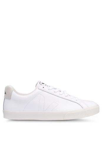 Veja white Esplar Leather Sneakers 1447FSHB9D9441GS_1