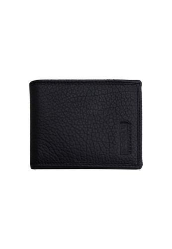 BAGGIO black Baggio Mens Genuine Leather Wallet Without Hole Ultra Slim Multi Compartment F9614AC06250D5GS_1