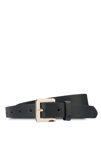Rubi black and gold Square Buckle Belt 13797AC4BBCD03GS_1