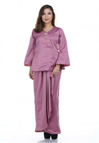 Wilma Kurung from NOVEMBERMATE in Pink