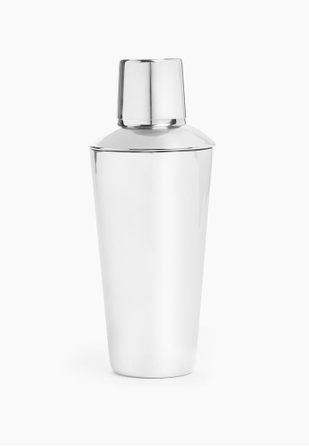 MARKS & SPENCER silver M&S Cocktail Shaker CA945HL04C1B99GS_1