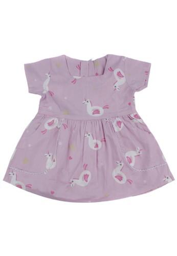 Pingu purple Pingu - Dress Anak Perempuan 90400610 ECCF3KAF72F3FEGS_1