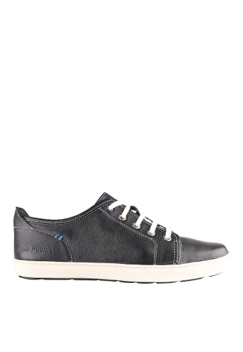 Hush Puppies black Hush Puppies GREYSON ROADCREW In Black 9829DSHE7E6815GS_1