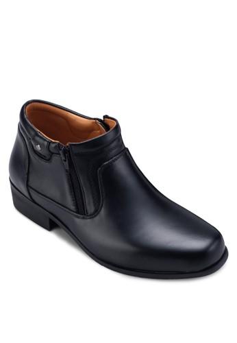 側拉鍊低筒esprit sg踝靴, 鞋, 靴子