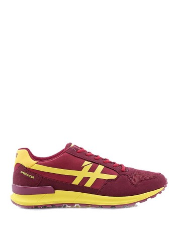 Sogno red Shoes Male Speed Racer Maroon - H 5095 8EAE1SH02F0DA1GS_1