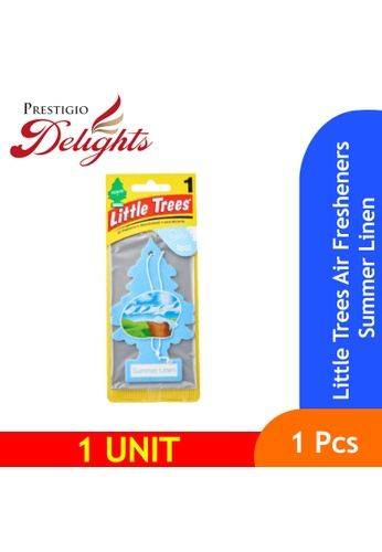 Prestigio Delights yellow Little Trees Air Fresheners Summer Linen 9B51CES99CBC41GS_1