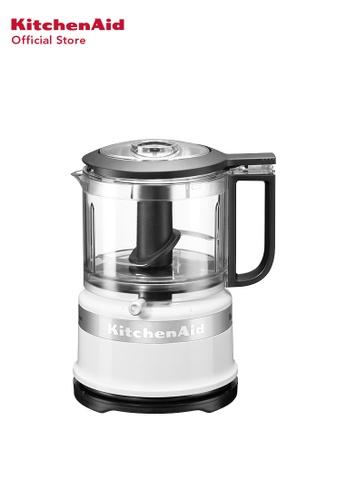 KitchenAid KitchenAid 3.5 CUP Mini FOOD PROCESSOR 5KFC3516BWH WHITE ED851HLD90DB28GS_1