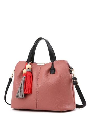 TCWK pink Ladies Handbag TC258AC30IYRMY_1