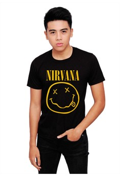 NIRVANA Shirt Black