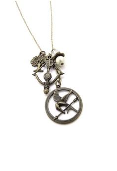 Peeta. Hunger Games Inspired Necklace