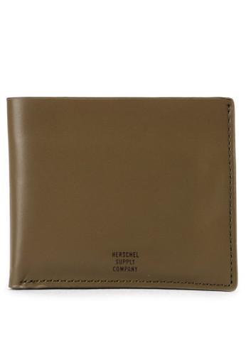 Herschel black Miles Leather Wallet 56768AC40746D8GS_1