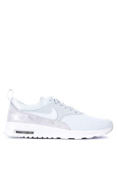 reputable site 796fb e062f Nike grey Women s Nike Air Max Thea Premium Shoes FF357SHE507208GS 1