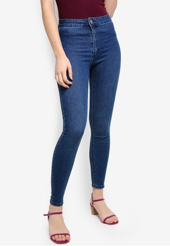 Cotton On blue High Rise Jeggings 5B161AA5C6618BGS_1