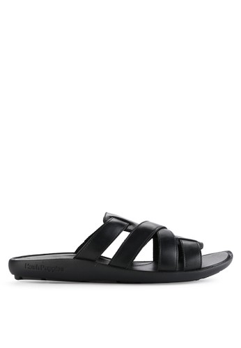 Hush Puppies black Pivot Slide 357C2SHA4557F6GS_1