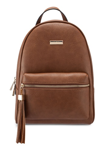 4f4fffbacca ALDO brown Hanalei Backpack E4948ACAC7E4D4GS 1. CLICK TO ZOOM