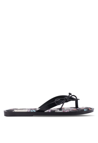 Melissa 黑色 Melissa Flip Flop Unicorn 涼鞋 D208ASH364ECC8GS_1