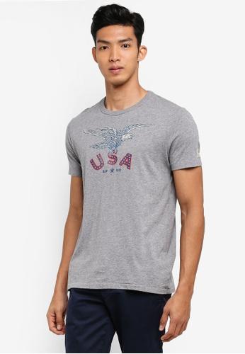 GAP grey USA Regional T-Shirt 93FD1AAD0BE8BAGS_1