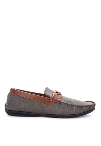 H2Ocean grey Norththrop Loafers 55418SH54374F3GS_1