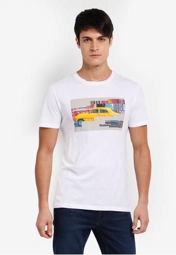 BOSS white Tux 2 T-Shirt - Boss Casual BO517AA0SRBIMY_1