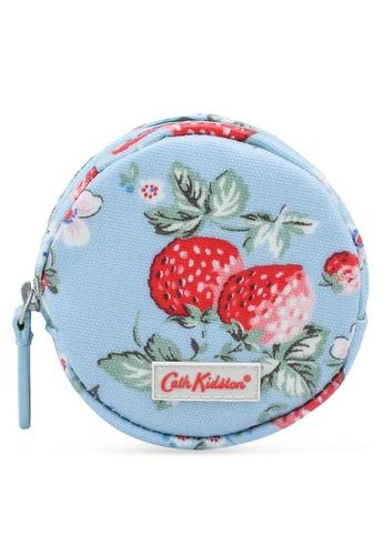 Cath Kidston blue Mini Wild Strawberry Round Coin Purse 2F987AC00F01D3GS_1