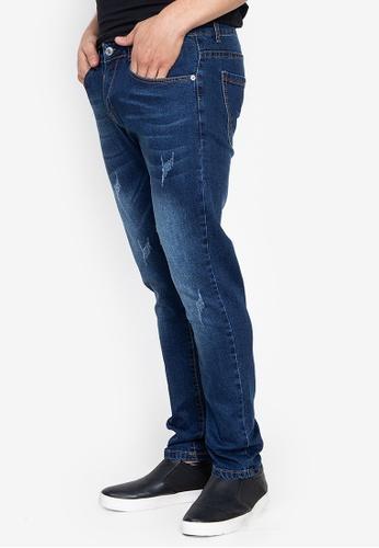 Balaynor blue Men's Denim Jeans BAF2FAA9DD4DE6GS_1