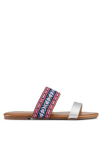 Mimosa silver Tribal Sandals F58F2SH54503F5GS_1
