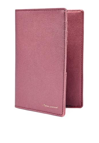 MARCO LAURENT red Amanda Passport Holder MA668AC2VK4EHK_1