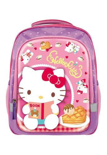 Hello Kitty pink Hello Kitty Tea Time Primary School Bag AA018KC5173B3FGS_1