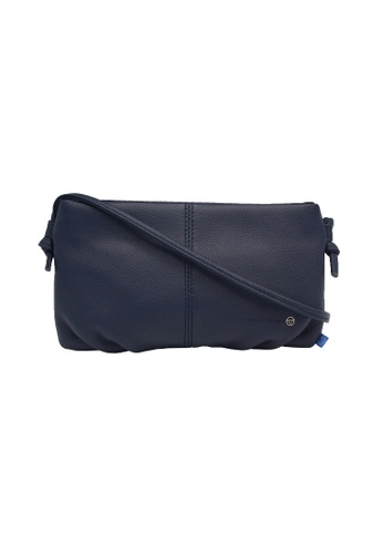 EXTREME navy Extreme Leather Sling Bag (iPhone 8 Plus) 69B8CAC867983EGS_1