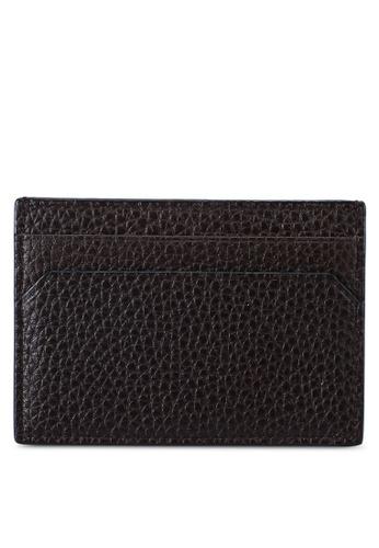 Bally brown Shar Card Holder (oc) EBB58AC5FFF404GS_1