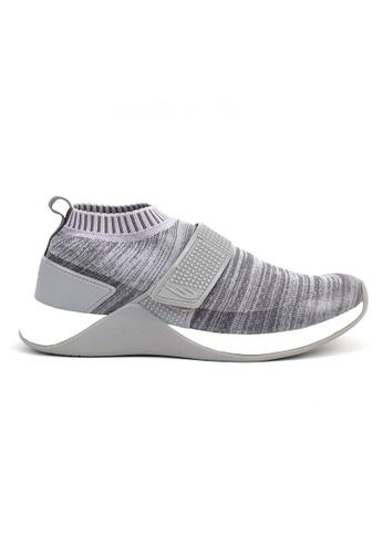 World Balance grey Metropolis MS Sneakers 27BC7SHF5493BEGS_1