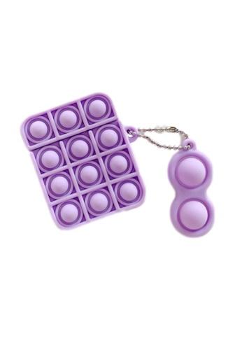 Kings Collection purple Pop It Fidget AirPods Case (KCAC2180) B951EAC7DD7F87GS_1