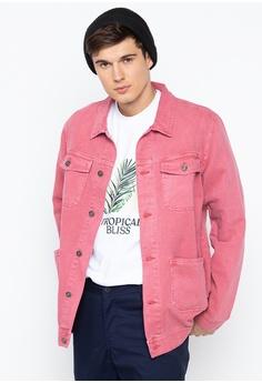 503699a7f10 Penshoppe pink Denim Jacket 51B7FAAEBFC523GS 1