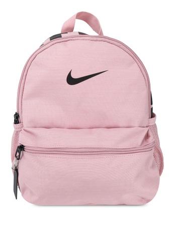 Nike pink Brasilia JDI Mini Backpack E284FKC982A80BGS_1